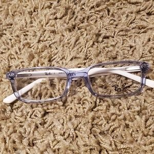 Ray-Ban RB 1525 Eyeglasses White with floral print